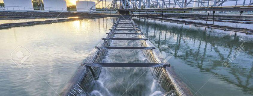 community water treatment plant